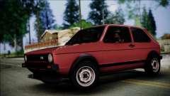 Volkswagen Golf Mk1 GTD for GTA San Andreas