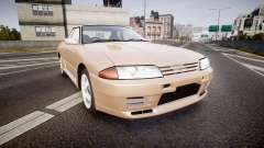 Nissan Skyline R32 GT-R 1993 for GTA 4