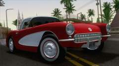 Chevrolet Corvette C1 1957 for GTA San Andreas