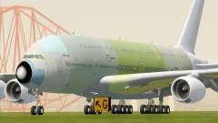 Airbus A380-800 F-WWDD Not Painted for GTA San Andreas