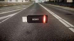 USB flash drive Sony red