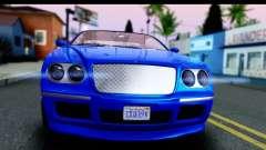 GTA 5 Enus Cognoscenti Cabrio for GTA San Andreas