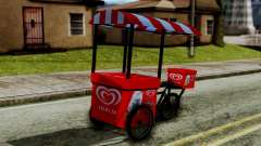Selecta Ice Cream Bike for GTA San Andreas