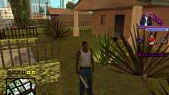 C-HUD by Tyga for GTA San Andreas