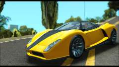 Grotti Cheetah v3 (GTA V) (IVF) for GTA San Andreas