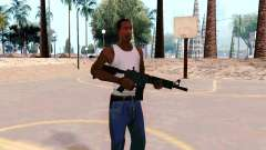 M4A1 (Dodgers) for GTA San Andreas