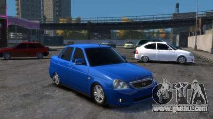Lada 2170 for GTA 4