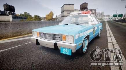 Ford Fairmont 1978 Police v1.1 for GTA 4