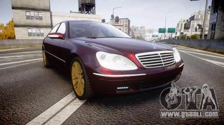 Mercedes-Benz S600 W220 for GTA 4