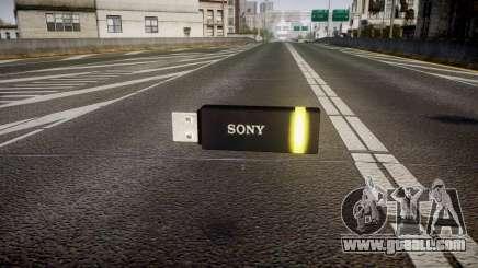 USB flash drive Sony yellow for GTA 4
