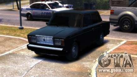 VAZ 2107 R13 for GTA 4