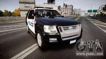 Ford Explorer 2008 Police [ELS] for GTA 4