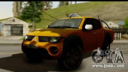 Mitsubishi L200 Triton v1.0 for GTA San Andreas