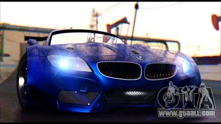 BMW Z4 GT3 for GTA San Andreas