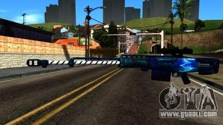 New Year Sniper Rifle for GTA San Andreas