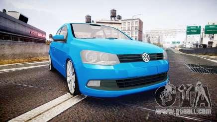Volkswagen Gol G6 iTrend 2014 rims2 for GTA 4