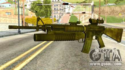 Assault Rifle from Global Ops: Commando Libya for GTA San Andreas