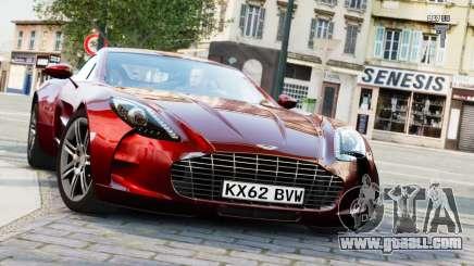 Aston Martin One-77 2010 [EPM] for GTA 4