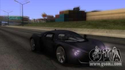Marussia B2 v1.1 for GTA San Andreas
