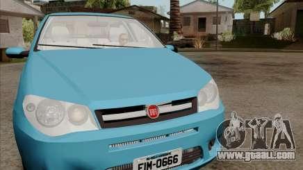 Fiat Siena 2008 for GTA San Andreas