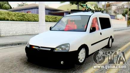 Opel Combo Delta Garage for GTA San Andreas