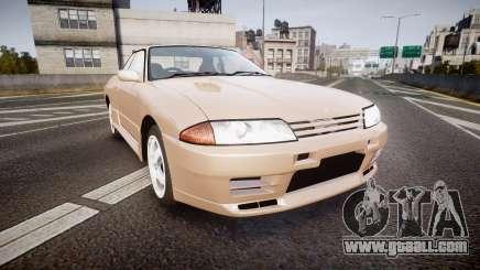 Nissan Skyline R32 GT-R 1993 for GTA 4
