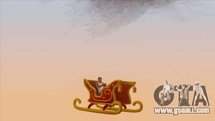 Santa Claus Sleigh for GTA San Andreas