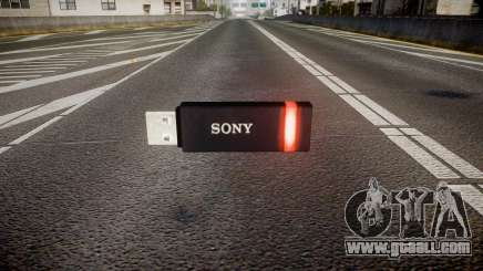 USB flash drive Sony red for GTA 4