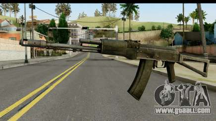 Plastic AKS-74 for GTA San Andreas