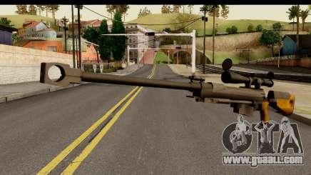 Sinons PGM Ultima Ratio Hecate II for GTA San Andreas