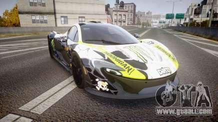 McLaren P1 2014 [EPM] Ken Block for GTA 4