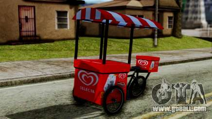 Selecta Ice Cream Bike for GTA San Andreas