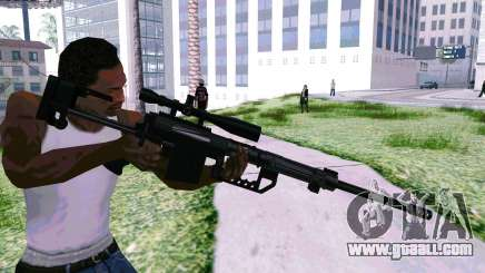 Cheytac M200 Black for GTA San Andreas