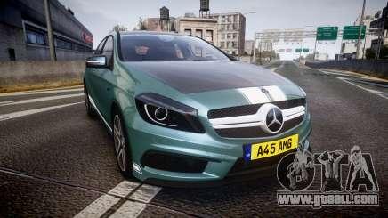 Mersedes-Benz A45 AMG PJs5 for GTA 4