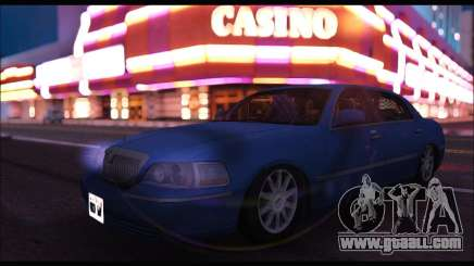 Lincoln Towncar (IVF) for GTA San Andreas