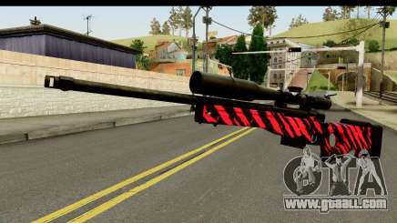 Red Tiger Sniper Rifle for GTA San Andreas