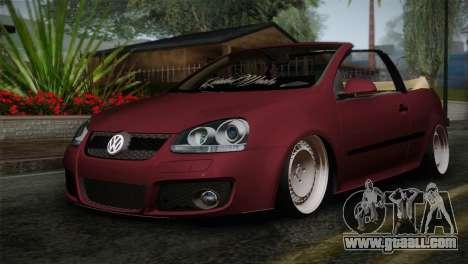 Volkswagen Golf 5 for GTA San Andreas