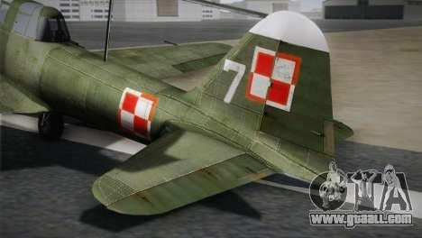 ИЛ-10 Polish Navy for GTA San Andreas back left view