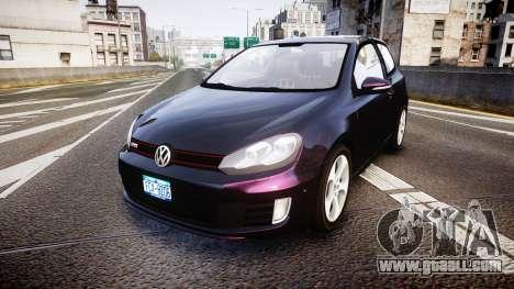 Volkswagen Golf Mk6 GTI rims1 for GTA 4