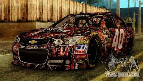 NASCAR Chevy SS 2013 for GTA San Andreas