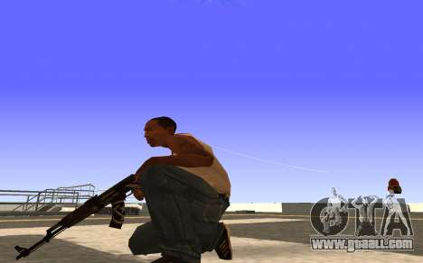 AK-47 Desert rebel CS:GO for GTA San Andreas third screenshot