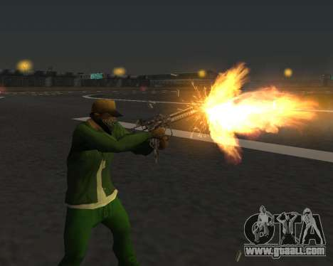 Beautiful shots from weapons for GTA San Andreas twelth screenshot