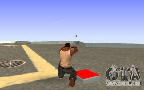 Glock-18 water CS:GO for GTA San Andreas