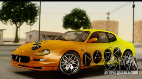 Maserati Gransport 2006 for GTA San Andreas engine