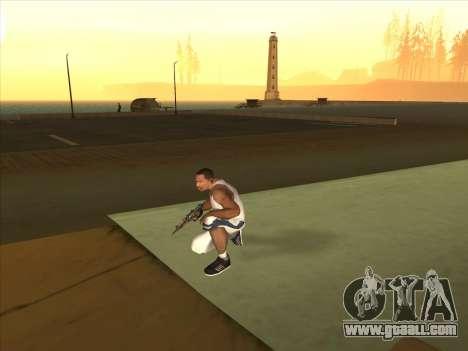 Russian submachine guns for GTA San Andreas third screenshot