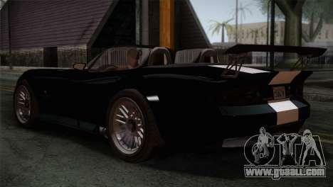 GTA 5 Bravado Banshee IVF for GTA San Andreas left view