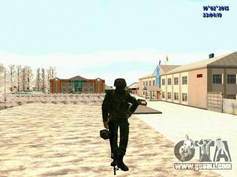 Spetsnaz MVD for GTA San Andreas