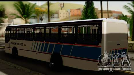 Marcopolo Torino GV Linea 29 Panchito Lopez for GTA San Andreas left view