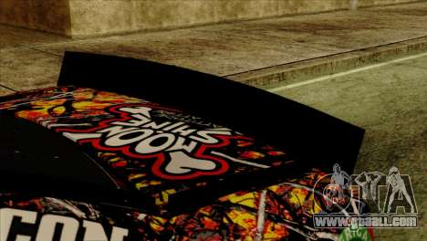 NASCAR Chevy SS 2013 for GTA San Andreas right view