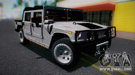 Hummer H1 Alpha OpenTop 2006 Stock for GTA San Andreas